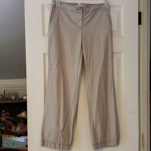 Ann Taylor Loft Pin strip pants
